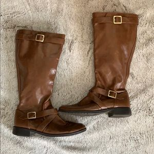 A2 by Aerosoles Brown Boots